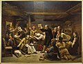 Adolph Tidemand - The Fanatics - Fanatikerna - Nationalmuseum - NM 1319.jpg