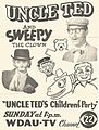 Advertisement for Uncle Ted's Children's Party.jpg