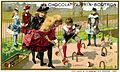 Advertising card depicting children playing croquet (14173562370).jpg