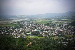 Aerial view of Bambang