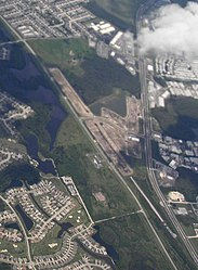 Aerial view of Tampa Bay Executive Airport, Odessa, Florida crop.jpg