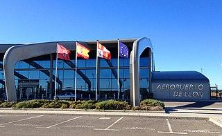 Airport in Spain