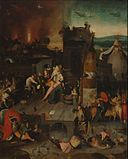 After Jheronimus Bosch - Temptation of Saint Anthony (Rotterdam).jpg