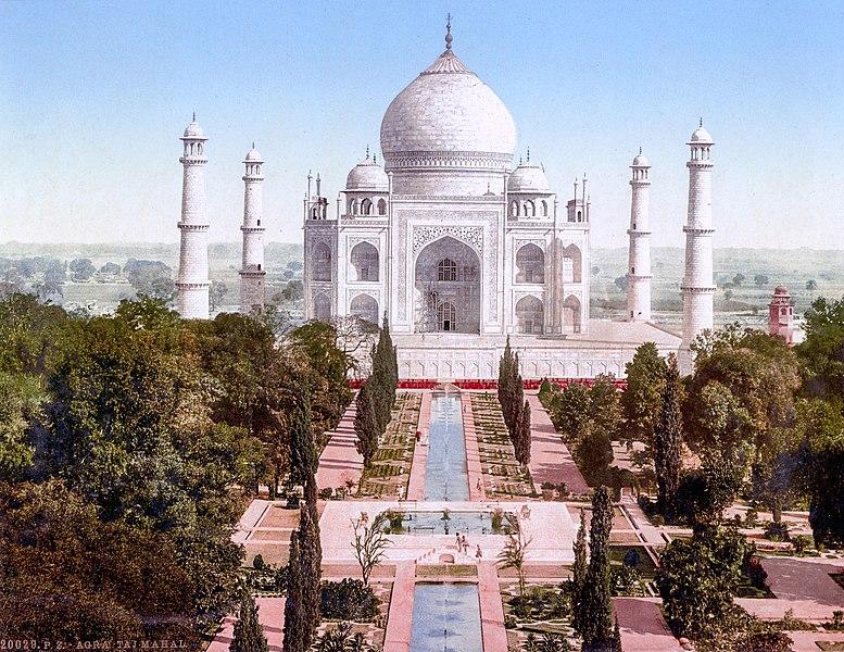 Taj Mahal - world's wonder