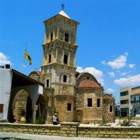 Kościół Ajos Lazaros w Larnace