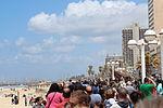 Air Force Fly By on Tel Aviv Beach IMG 1685.JPG