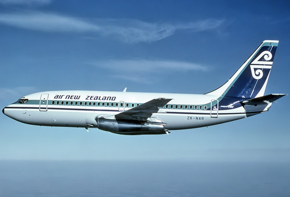 Air New Zealand Boeing 737-219 (ZK-NAR), 1979