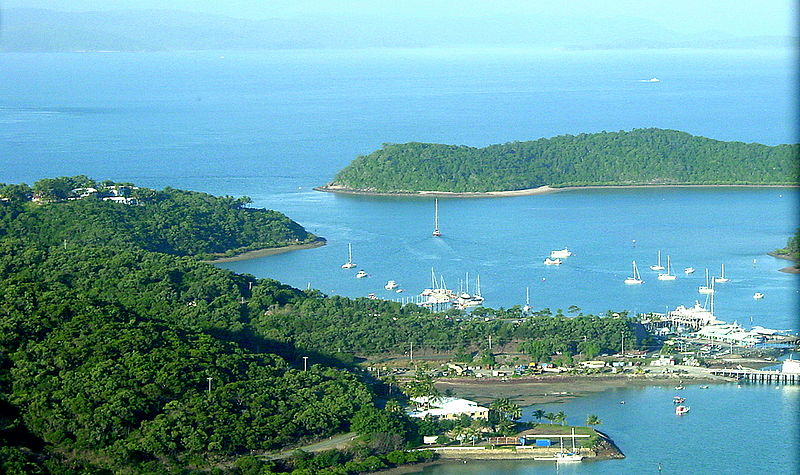 Airlie Beach From The Air. Photo: F. Delventhal/Creative Commons