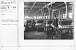 Airplanes - Engines - Aircraft Testing Field, Packard Motor Co., Detroit, Michigan. Inspecting before final run - NARA - 17338551.jpg