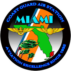 Coast Guard Air Station Miami - Unit Patch CGAS Miami