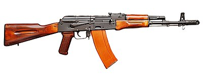photo relating to Polish Ak 47 Receiver Template Printable named Kalashnikov rifle - Wikipedia
