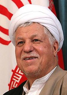 Akbar Hashemi Rafsanjani President of Iran from 1989 to 1997