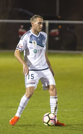 Alan Baró - Baró playing for Melbourne Victory in 2016