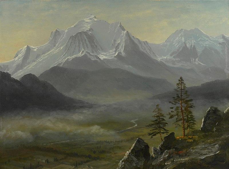 File:Albert Bierstadt - Mont Blanc (1890s).jpg