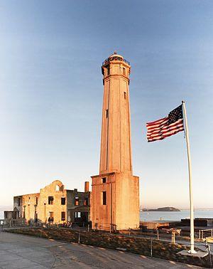 Alcatraz Island Light - Alcatraz Island Lighthouse