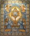 Alegoria Eucarística - Lisboa, c. 1660, proveniente do antigo Convento de Sant'Ana (MNAz inv. 161 Az).png