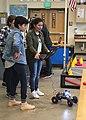 Alejandra test drives the second generation robot (25938808487).jpg