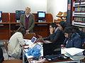 Alejandro Pelayo, director de la Cineteca Nacional, durante el Editatón 'Wikipedia ama el cine' 06.JPG
