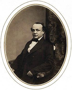 Aleksey Pisemsky - Portrait of Pisemsky by Sergei Levitsky, 1856.