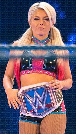 Alexa Bliss SmackDown Women's Champion 2016