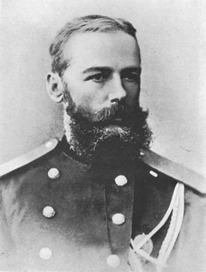 Alexander Järnefelt - Alexander Järnefelt in military uniform.