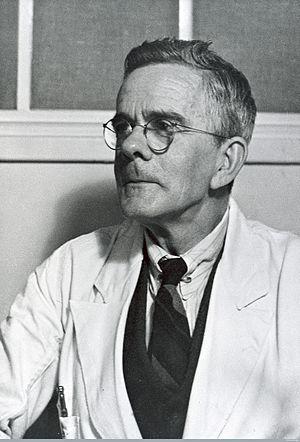 Alexander Glenny - Image: Alexander Thomas Glenny in his lab coat