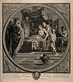 Alexander the Great demonstrates his trust in his physician Wellcome V0015925.jpg