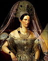 Alexandra Feodorovna in Russian dress (Deutsches Historisches Museum).jpg