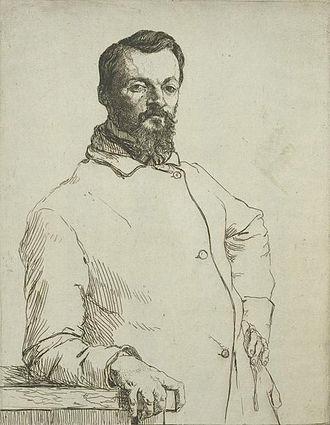 Félix Bracquemond - Image: Alfred de Curzon
