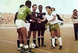 1978 All-Africa Games - Algeria vs Nigeria in the final match of the football tournament in Algiers
