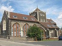 All Saints Church, Swanscombe (2) - geograph.org.uk - 1411878.jpg