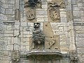 All that remains of the lion on the lion gate, Warkworth Castle - geograph.org.uk - 1321508.jpg