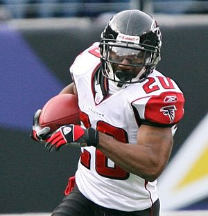 Allen Rossum - Rossum returns a kickoff in 2006 with the Atlanta Falcons