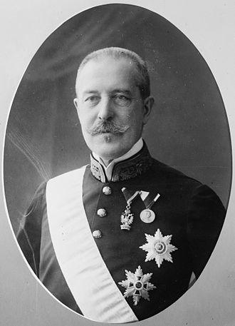 Alois Lexa von Aehrenthal - Minister Aehrenthal in 1910