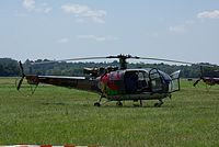 Alouette III -Rotores -Airexpo2009.JPG