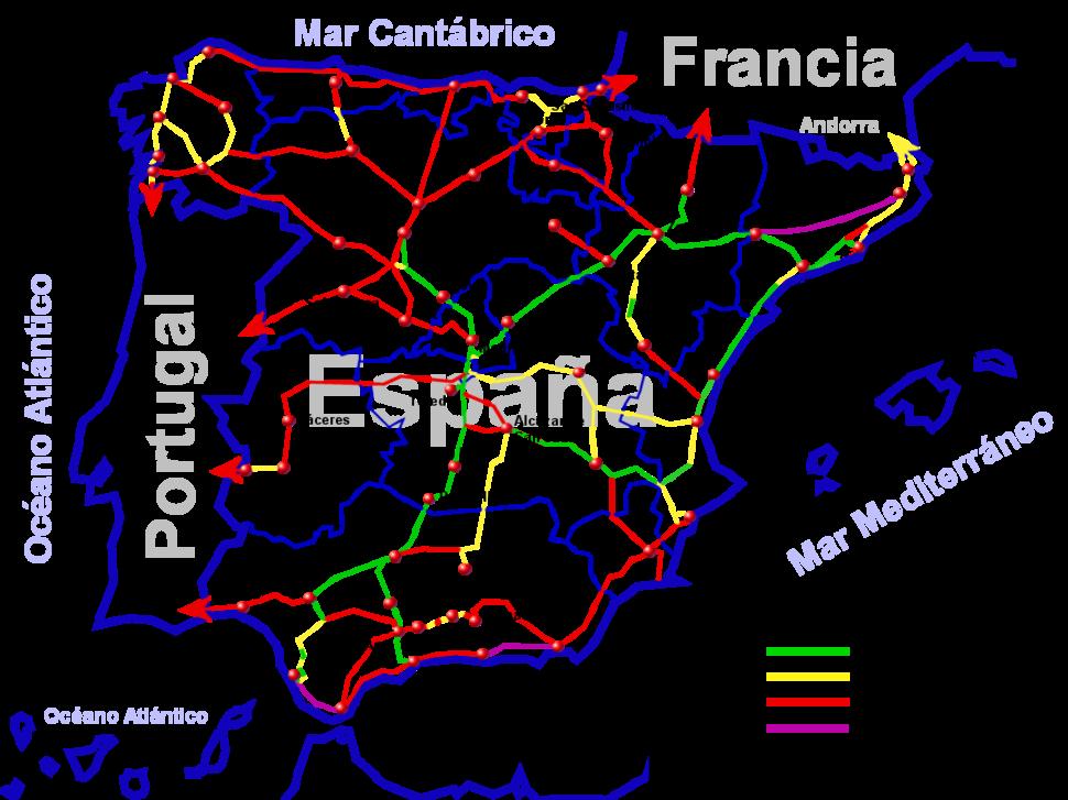 AltaVelocidadEspanya-Febrero2008