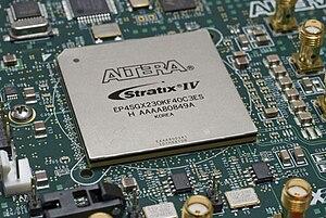 Stratix - A Stratix IV FPGA