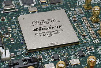 Field-programmable gate array - A Stratix IV FPGA from Altera