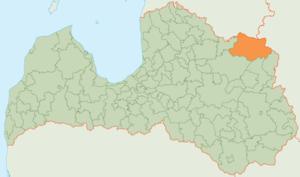 Alūksne Municipality - Image: Aluksnes Novads