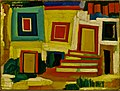 Amadeo de Souza-Cardoso, 1915-16 - The little bright house - Landscape.jpg