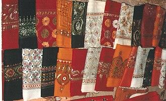 Amar Kutir - Some Amar Kutir products on display