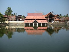 A panoramic view of Ambalappuzha Sri Krishna Temple.