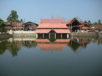 Kunchan Nambiar - Ambalappuzha Sri Krishna Temple, the place where Nambiar is believed to have performed Ottan Thullal for the first time.