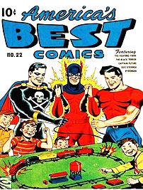 America's Best Comics (1946), featuring heroes...