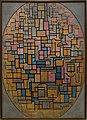 Amsterdam - Stedelijk Museum - Piet Mondrian (1872-1944) - Tableau III, Composition in Oval (A 24589) 1914.jpg