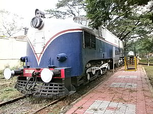 Deccan Queen - WCM 1 type engine initially was used to pull Deccan Queen