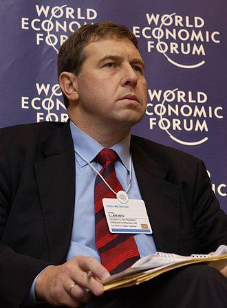 Andrey Illarionov - Illarionov in 2003