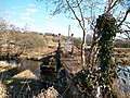 Angler's footbridge over Afon Dwyfor at Ystum-cegid - geograph.org.uk - 1762534.jpg