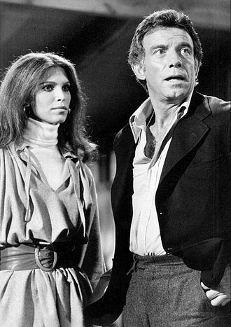Ann Turkel - Turkel with Anthony Franciosa in Matt Helm, 1975.