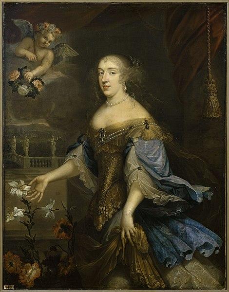 File:Anne Marie Louise d'Orléans, Duchess of Montpensier, La Grande Mademoiselle - Versailles MV 3476.jpg